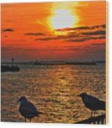 06 Sunset Series Wood Print