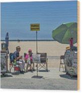 0676- Venice Beach Wood Print