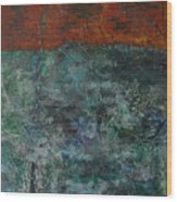 068 Abstract Thought Wood Print