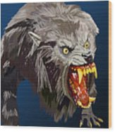 073. Once A Werewolf Always A Werewolf Wood Print