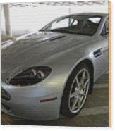 08 Aston Martin Wood Print