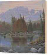 090506-1418   Colorado Morning Wood Print