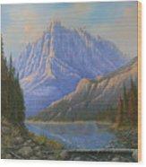 090523-3040    Between Heaven And Earth Wood Print