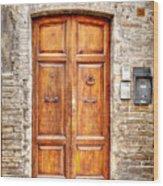 0958 Assisi Italy Wood Print