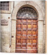 0959 Assisi Italy Wood Print