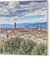 0960 Florence Italy Wood Print