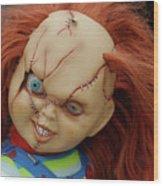 Chucky's Back Wood Print