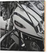 1 - Harley Davidson Series  Wood Print by Lainie Wrightson