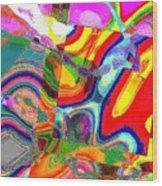01809 Wood Print
