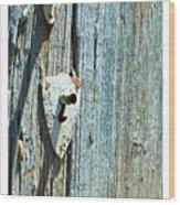 109 East Palace Wood Print