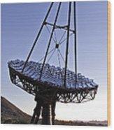12m Gamma-ray Reflector Telescope Wood Print