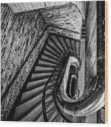 155 Dow Street Wood Print