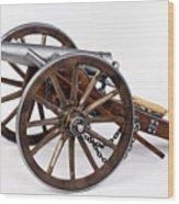1861 Dahlgren Cannon Wood Print