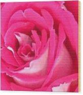 Bara Means Rose Wood Print