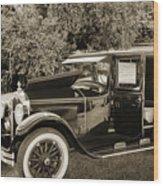 1924 Buick Duchess Antique Vintage Photograph Fine Art Prints 10 Wood Print