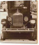 1926 Model T Wood Print