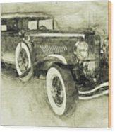 1928 Duesenberg Model J 3 - Automotive Art - Car Posters Wood Print