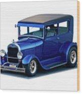 1928 Ford Tudor Sedan I Wood Print