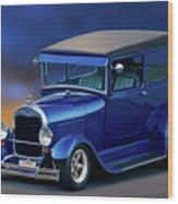 1928 Ford Tudor Sedan II Wood Print