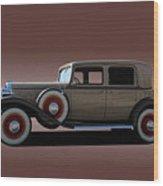 1932 Classic Buick 4 Door Sedan Wood Print