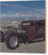 1932 Chevrolet Rat Rod Wood Print