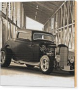 1932 Ford Lil' Deuce Coupe Wood Print