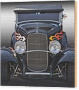1932 Ford 'traditional' Hot Rod Roadster Wood Print