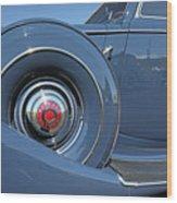 1937 Packard Automobile Wood Print