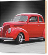 1938 Ford Five-window Coupe II Wood Print