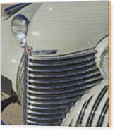 1940 Cadillac 60 Special Sedan Grille Wood Print