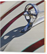 1949 Custom Buick Hood Ornament Wood Print