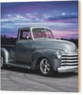 1953 Chevrolet 3100 Custom Pickup  Wood Print