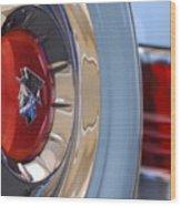 1954 Mercury Monterey Merco Matic Spare Tire Wood Print