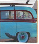 1954 Pontiac Chieftain Station Wagon Wood Print