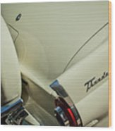 1956 Ford Thunderbird Spare Tire Wood Print