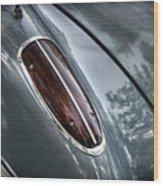 1960 Chevrolet Corvette Taillight Wood Print