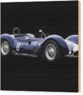 1960 Maserati T61 Racecar Wood Print