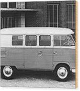 1960 Volkswagon Microbus Wood Print
