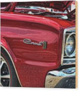 1966 Dodge Coronet 500 426 Hemi Wood Print