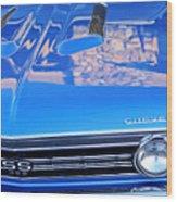1967 Chevrolet Chevelle Super Sport  Wood Print