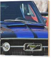 1967 Mustang Fastback Wood Print