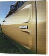1968 Dodge Charger Hemi Wood Print