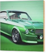 1968 Ford Mustang Fastback I Wood Print