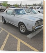 1968 Mercury Cougar Xr7 Wood Print