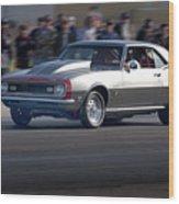 1969 Camaro Ss396 Wood Print
