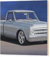 1969 Chevrolet C10 Pickup 'studio' 1 Wood Print