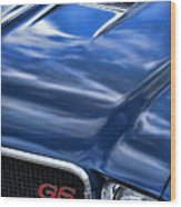 1970 Buick Gs 455  Wood Print