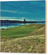 #2 At Chambers Bay Golf Course Wood Print