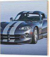 2000 Dodge Viper Vs1 Coupe Wood Print