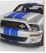 2008 Shelby Ford Gt500kr Wood Print